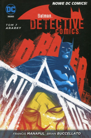 Batman Detective Comics Tom 7 Anarky - okładka