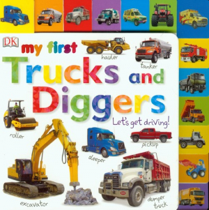 My First Trucks and Diggers Let's Get Driving - okładka