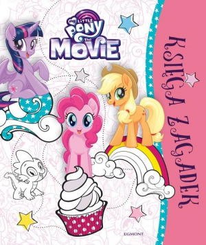 My Little Pony The Movie Księga zagadek - okładka