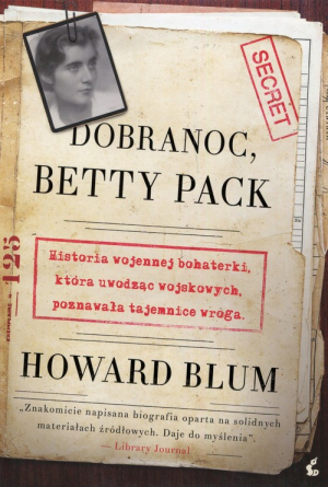 Dobranoc Betty Peck - okładka
